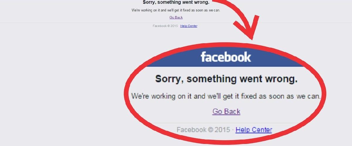 Problemas en Facebook, ¡mantén la calma!
